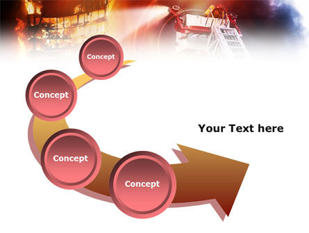 Fire Fighting PowerPoint Template Slide 6