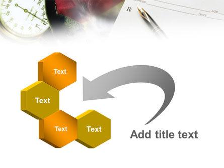 Medical Center Card PowerPoint Template Slide 11