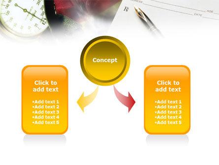 Medical Center Card PowerPoint Template, Slide 4, 01185, Abstract/Textures — PoweredTemplate.com