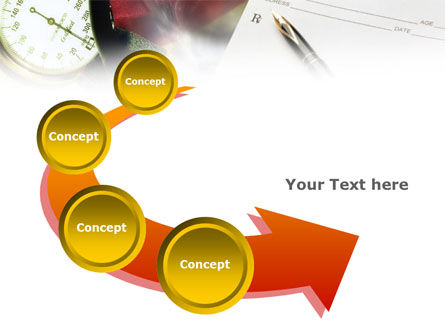 Medical Center Card PowerPoint Template Slide 6