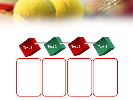 Tennis Balls And Rackets PowerPoint Template Slide 18