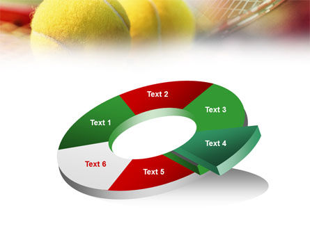 Tennis Balls And Rackets PowerPoint Template Slide 19