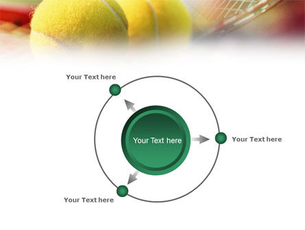 Tennis Balls And Rackets PowerPoint Template Slide 7