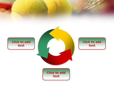 Tennis Balls And Rackets PowerPoint Template Slide 9