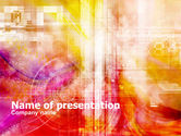 Abstract/Textures: Bright Industrial Theme PowerPoint Template #01190