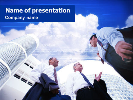 Business Men PowerPoint Template