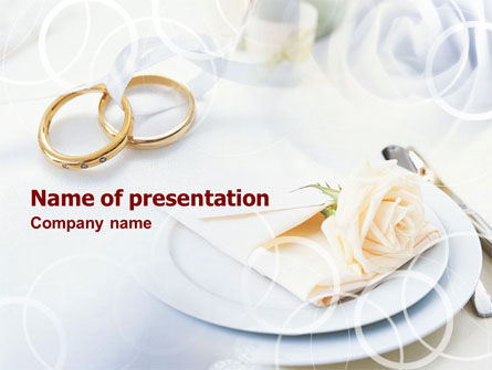 Engagement Rings PowerPoint Template