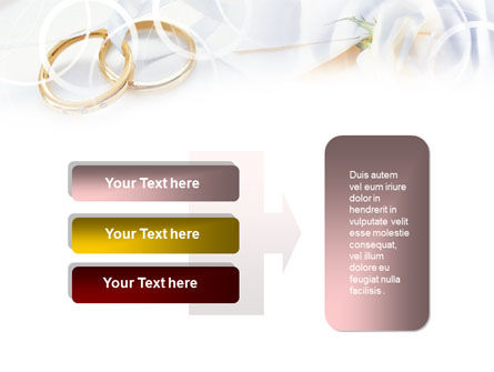 Engagement Rings PowerPoint Template Slide 11