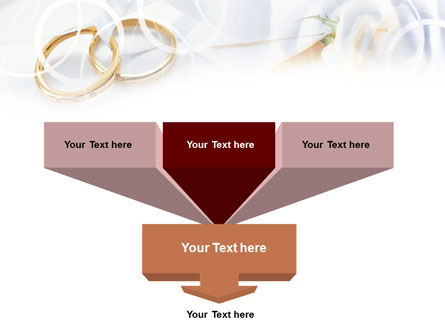 Engagement Rings PowerPoint Template Slide 3
