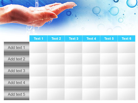 Tap Water PowerPoint Template Slide 15