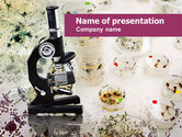 Technology and Science: Bacterium Breeding PowerPoint Template #01195
