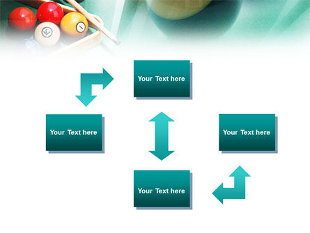 Billiards PowerPoint Template, Slide 4, 01196, Sports — PoweredTemplate.com