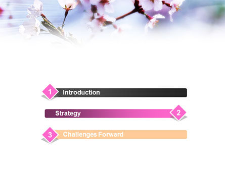 Blooming Tree PowerPoint Template Slide 3