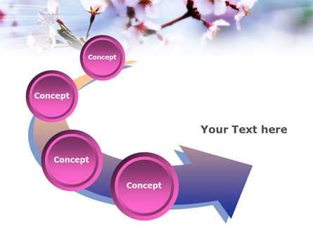 Blooming Tree PowerPoint Template Slide 6
