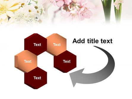 Flower Decoration PowerPoint Template Slide 11
