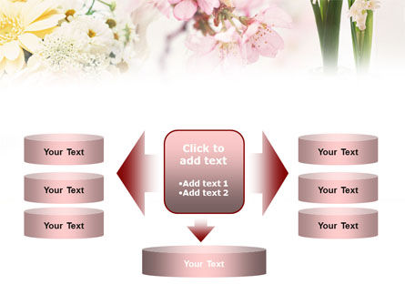 Flower Decoration PowerPoint Template Slide 13