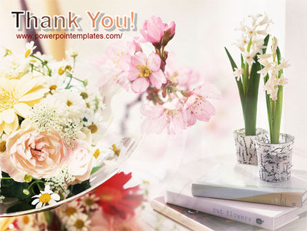 Flower Decoration PowerPoint Template Slide 20