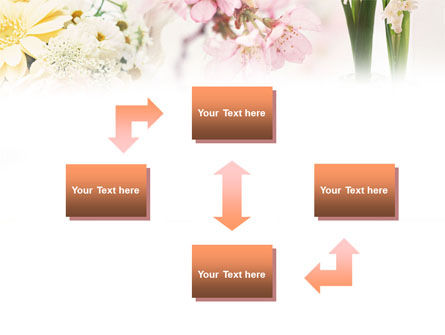 Flower Decoration PowerPoint Template, Slide 4, 01199, Careers/Industry — PoweredTemplate.com