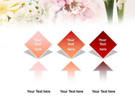 Flower Decoration PowerPoint Template Slide 5