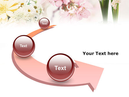 Flower Decoration PowerPoint Template Slide 6