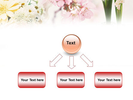 Flower Decoration PowerPoint Template Slide 8