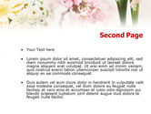 Flower Decoration PowerPoint Template#2