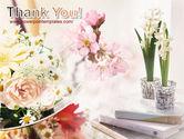 Flower Decoration PowerPoint Template#20