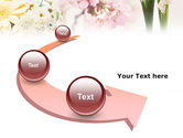 Flower Decoration PowerPoint Template#6