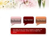 Flower Decoration PowerPoint Template#9
