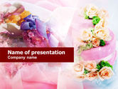 Holiday/Special Occasion: Flower Decoration Services PowerPoint Template #01200