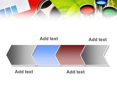 Color Paint PowerPoint Template Slide 16