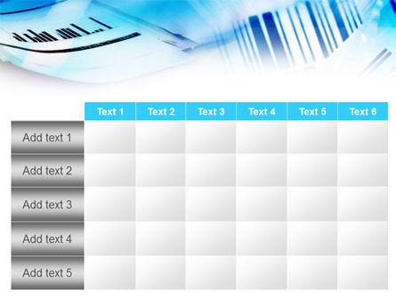 Bar Code PowerPoint Template Slide 15