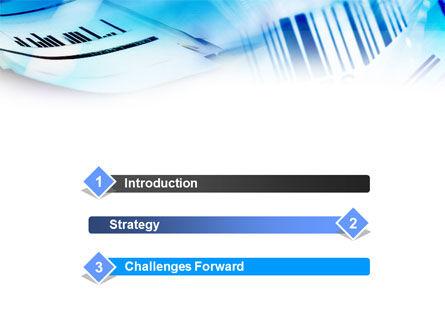 Bar Code PowerPoint Template Slide 3