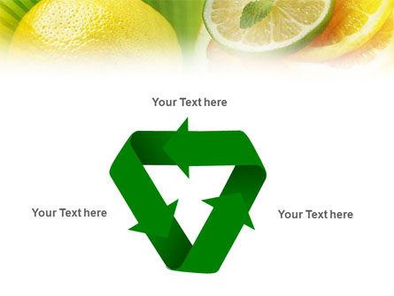 Sliced Lemon Free PowerPoint Template Slide 10