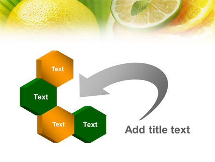 Free Sliced Lemon PowerPoint Template Slide 11