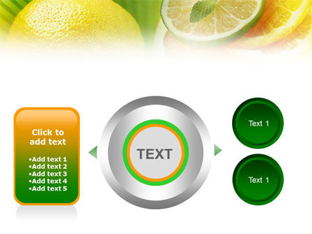 Free Sliced Lemon PowerPoint Template Slide 12