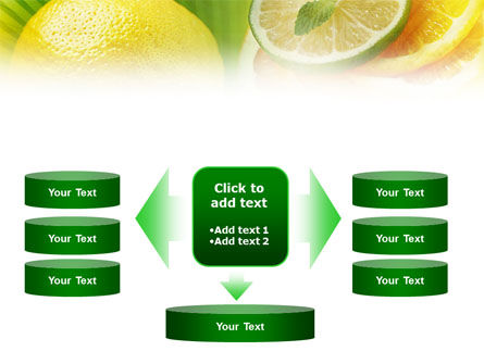 Free Sliced Lemon PowerPoint Template Slide 13