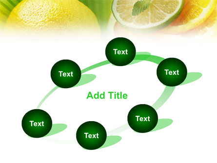 Free Sliced Lemon PowerPoint Template Slide 14
