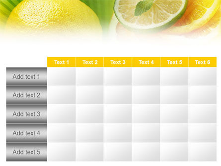 Free Sliced Lemon PowerPoint Template Slide 15