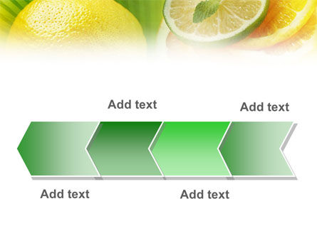 Free Sliced Lemon PowerPoint Template Slide 16