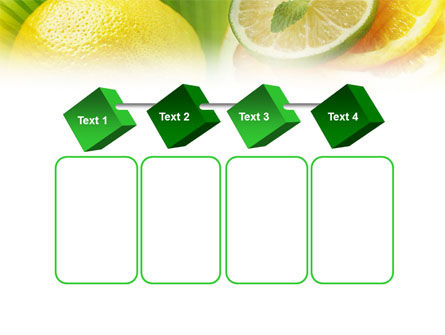 Free Sliced Lemon PowerPoint Template Slide 18