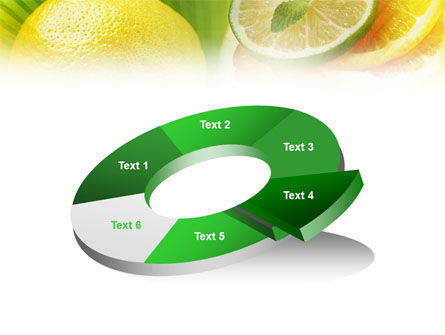 Free Sliced Lemon PowerPoint Template Slide 19