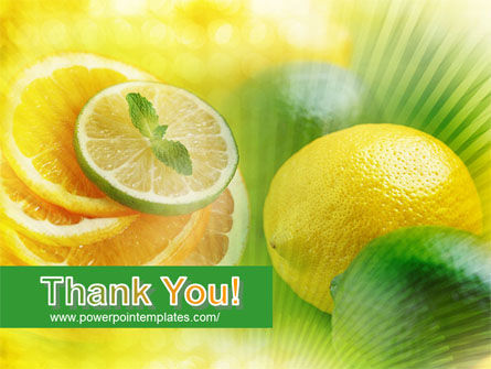 Free Sliced Lemon PowerPoint Template Slide 20