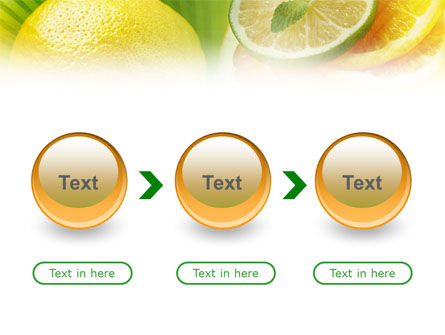 Free Sliced Lemon PowerPoint Template Slide 5