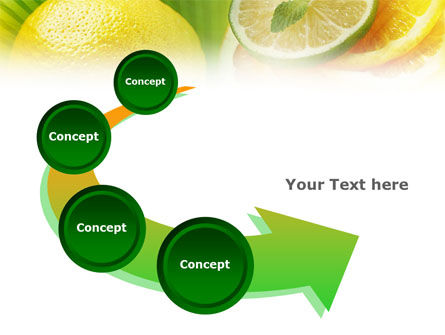 Free Sliced Lemon PowerPoint Template Slide 6