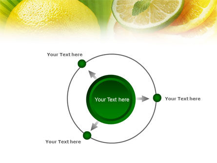 Free Sliced Lemon PowerPoint Template Slide 7