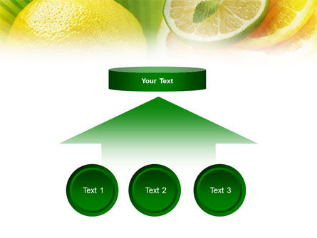 Free Sliced Lemon PowerPoint Template Slide 8