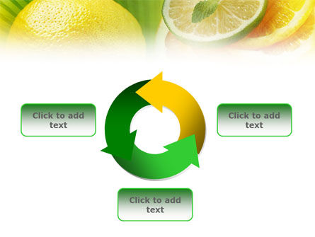 Free Sliced Lemon PowerPoint Template Slide 9