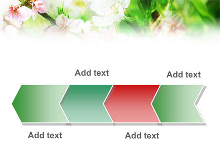Blooming Cherry Tree PowerPoint Template Slide 16