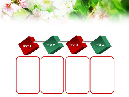 Blooming Cherry Tree PowerPoint Template Slide 18